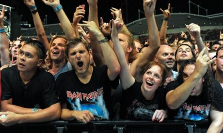 Los fans del metal