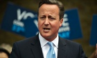 Prime Minster David Cameron Attends A Rally Before European And Local Elections