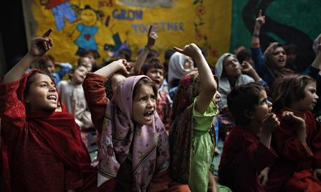 Pakistani schoolchildren