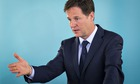 nick clegg tough ride