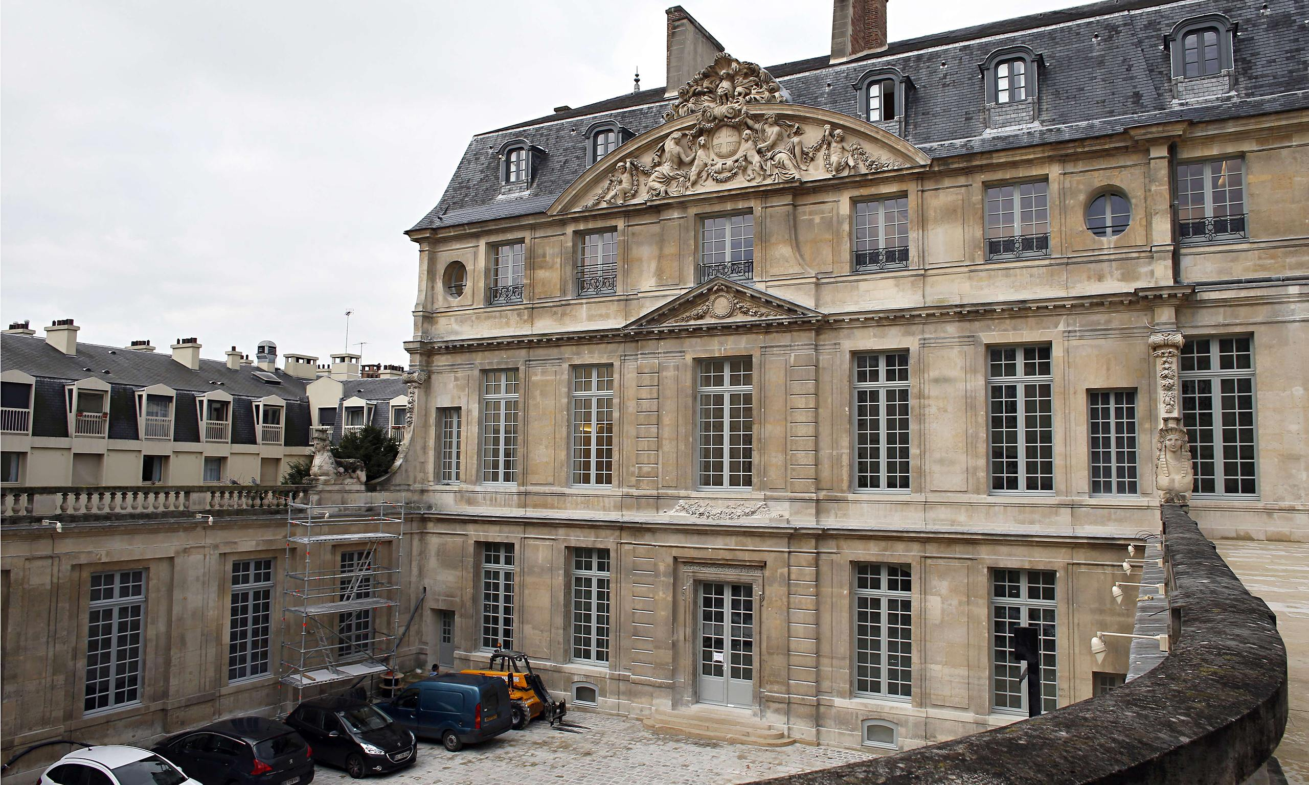 paris picasso museum set to reopen three years later. Black Bedroom Furniture Sets. Home Design Ideas
