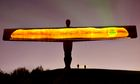 Morrisons uses the Angel of the North to advertise its baguettes