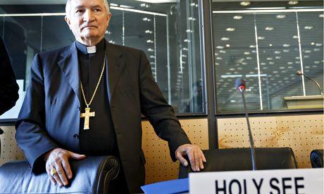 Archbishop Silvano Tomasi, the Vatican's ambassador to the UN