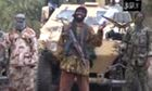Screengrab from video obtained by AFP of Boko Haram leader Abubakar Shekau