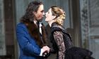 Mariusz Kwiecien as Don Giovanni and Malin Bystrom as Donna Anna at the Royal Opera House