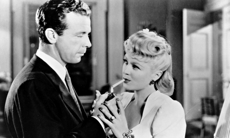 You're all me, me, me … Dick Powell and Claire Trevor in Farewell My Lovely (aka Murder, My Sweet), adapted from Chandler's novel. Photograph: Ronald Grant Archive