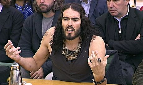 Russell Brand at the House of Commons