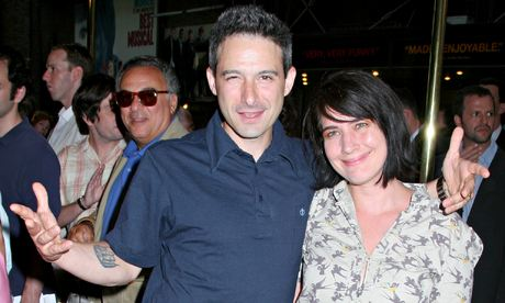 With husband, Beastie Boy Adam Horovitz. Photograph: A Miller/WENN