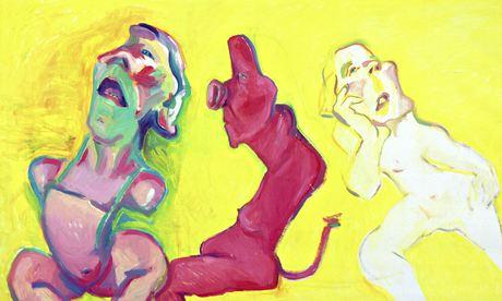 Three Ways of Being by Maria Lassnig