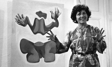 Maria Lassnig in the 1970s.