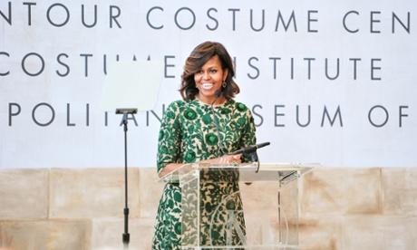 Michelle Obama costume institute