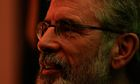 Gerry Adams formally complains about police detention