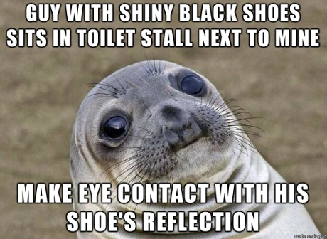 Awkward Seal, one of many advice animals, tells a story.