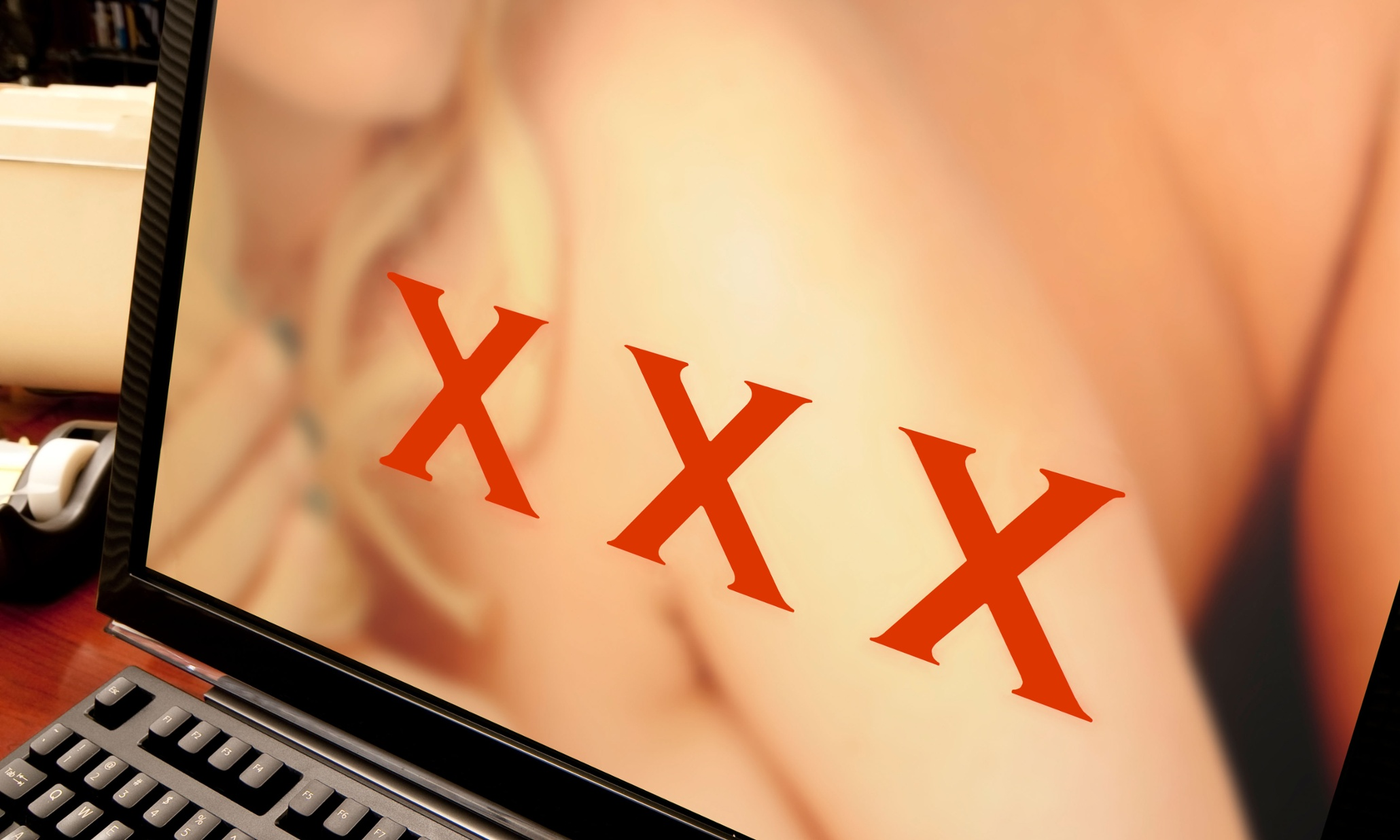New online research claims a third of ads are going to porn sites and other