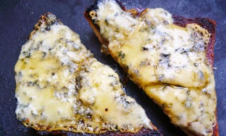 Blue Cheese Tartine Recipe — Dishmaps