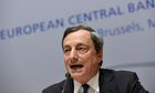 European Central Bank President Mario Draghi Announces Interest Rate Decision