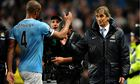 Vincent Kompany and Manuel Pellegrini