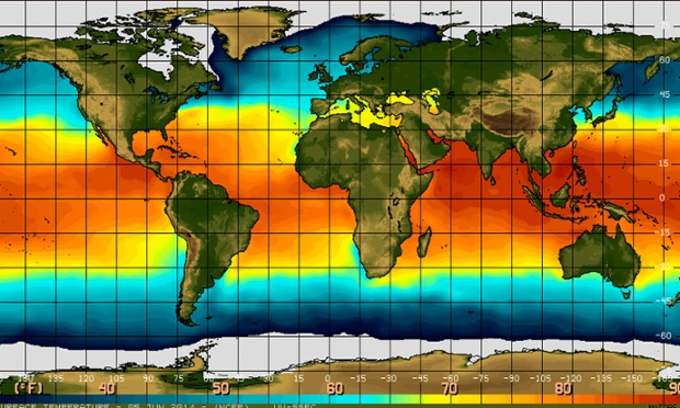 El Niño finally arrives but is weaker than expected, says US agency