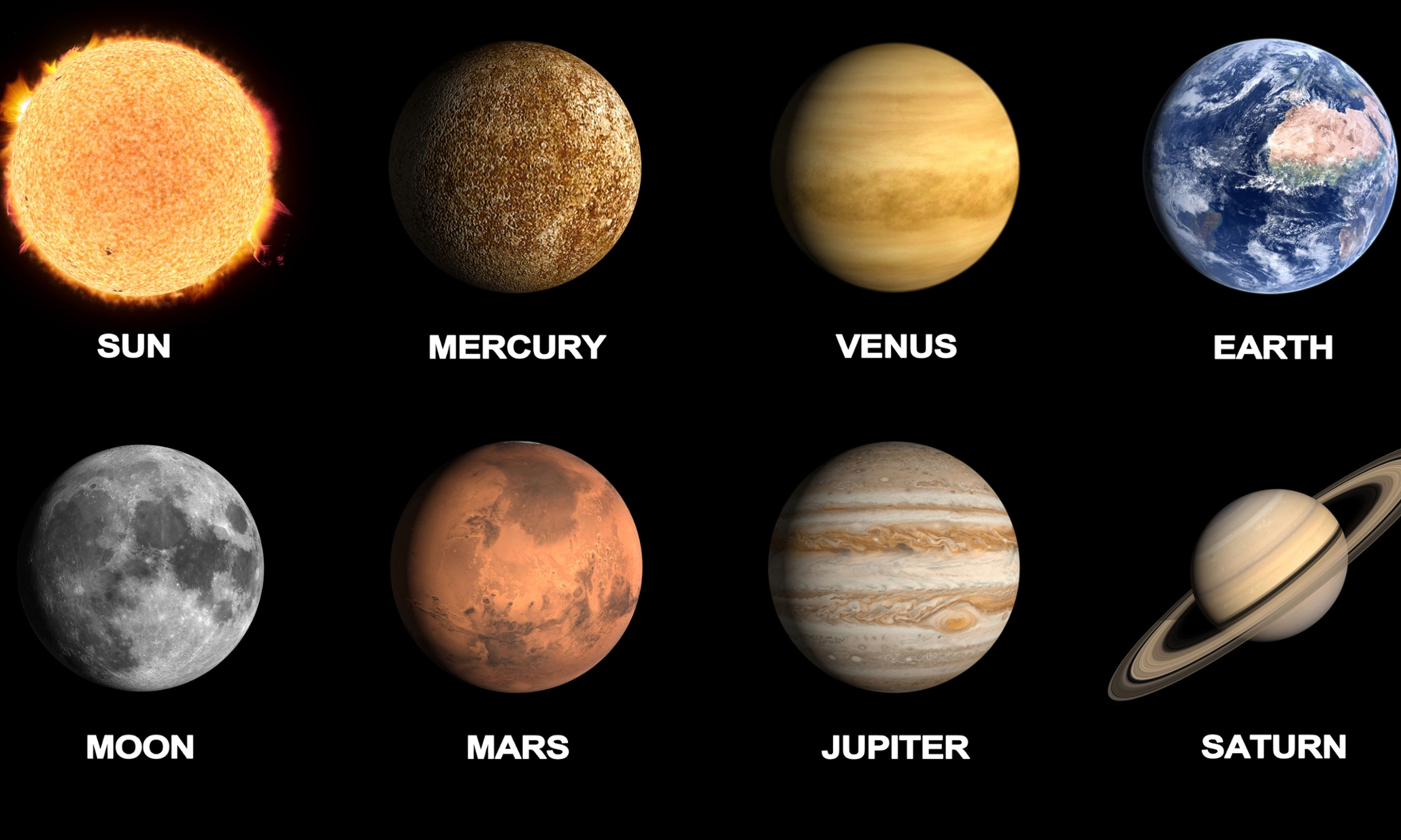 what do all the planets look like - photo #2
