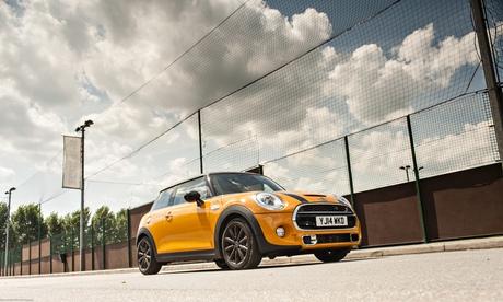 On the road: Mini Cooper S