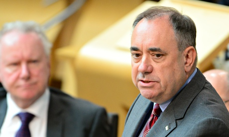 Alex Salmond will not sack adviser over email smearing Better Together speaker