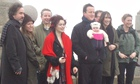 Tim Burton, Helena Bonham Carter, avid Cameron Samantha Cameron, Michael Gove