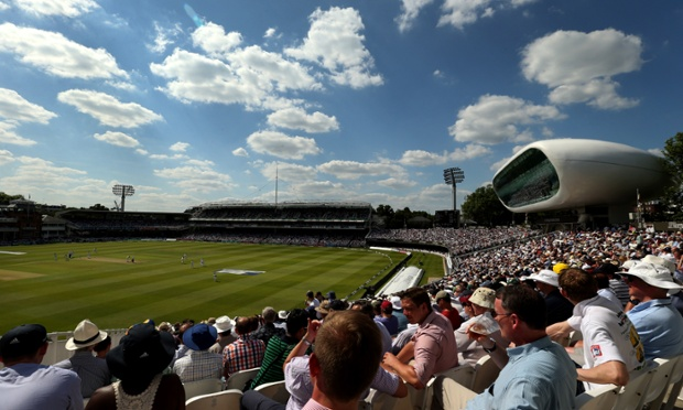 A general view of Lord's during the first day of the first Test between England and Sri Lanka.