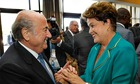 Blatter and Rousseff