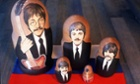 Beatles Russian dolls