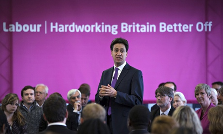 Labour Leader Ed Miliband Speech In Essex
