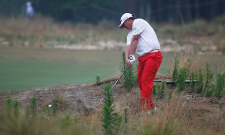 Dufner in the 'natural area'.
