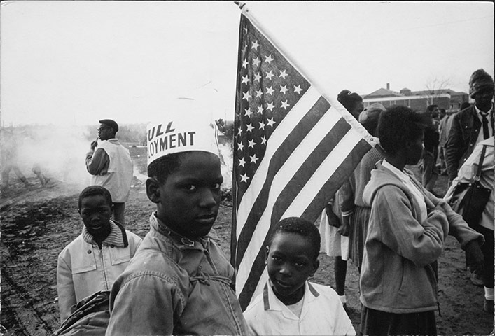 Dennis Hopper Shots: Dennis Hopper photography Selma, Alabama (Full Employment), 1965