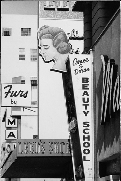 Dennis Hopper Shots: Dennis Hopper Photography Downtown, Los Angeles (Comer & Doran), 1965