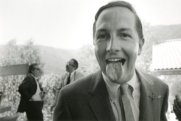 Dennis Hopper Shots: Dennis Hopper Photography Robert Rauschenberg, 1966