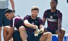 Steven Gerrard during England training, World Cup 2014