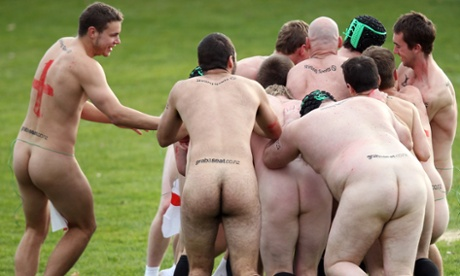 England All Blacks naked match