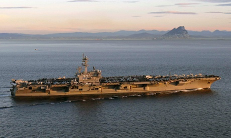 aircraft carrier USS George HW Bush