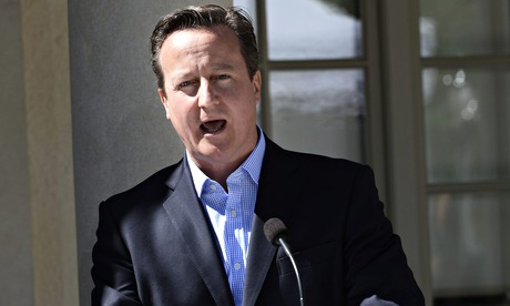 David Cameron wrote about the subject in a Sunday newspaper.