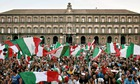Naples during the World Cup in 2006.