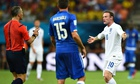 Wayne Rooney, England v Italy, World Cup Group D
