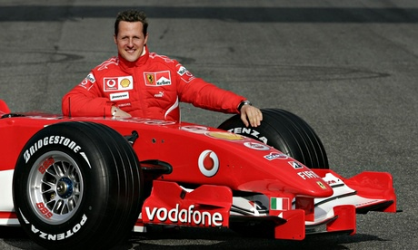 Michael Schumacher in Mugello
