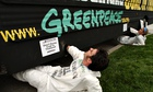 Greenpeace protest