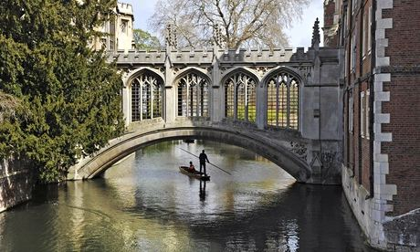 A bridge at Cambridge university