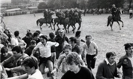 Orgreave Coke Works, South Yorkshire 18 June 1984 Miners Strike