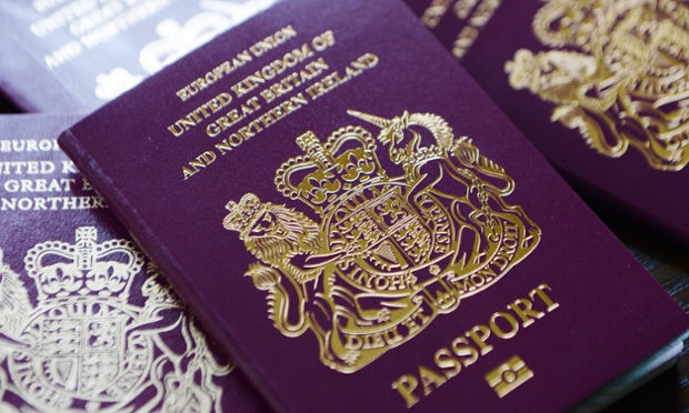 There is a huge backlog of applications for British passports.