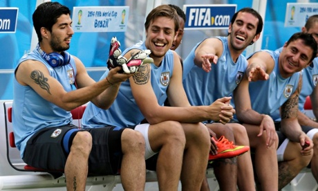 Luis Suárez and Sebastian Coates