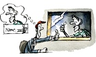 Benoit Jacques illustration for Tim Dowling column on radio