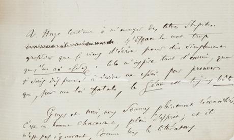 Baudelaire letter