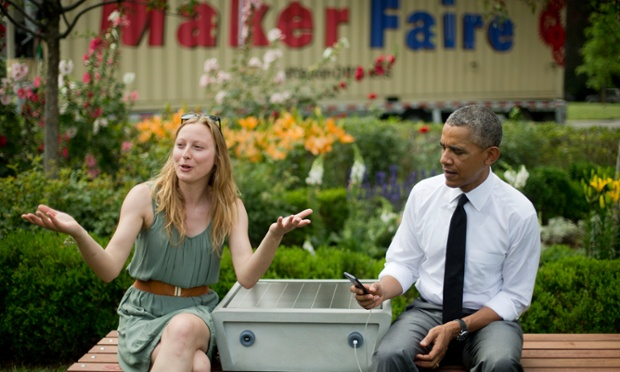 barack obama maker faire