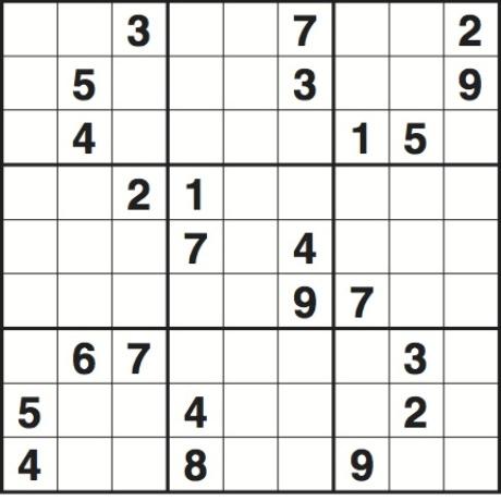 Volume 13 Large Print Sudoku Fun Large Grid Sudoku Puzzles Rajiv